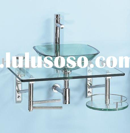 glass vanity cabinets/bathroom furniture