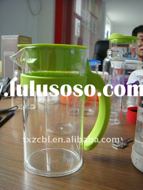 glass water storage bottle, glass pitcher