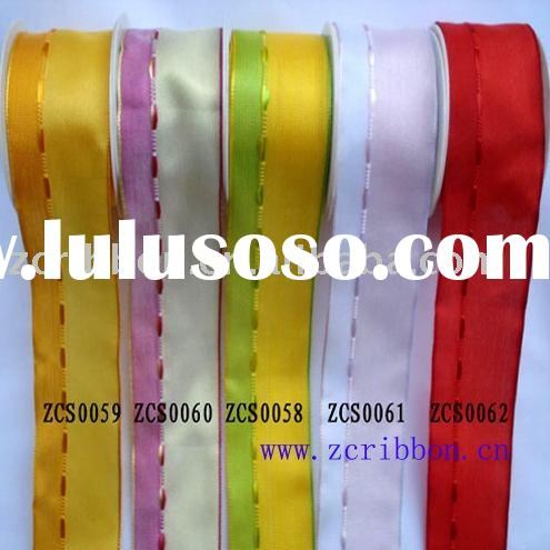 grosgrain ribbon;polyester ribbon, ribbon bow, wired ribbon