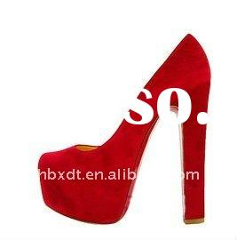 high heel suede fashion shoes wedding shoes for women