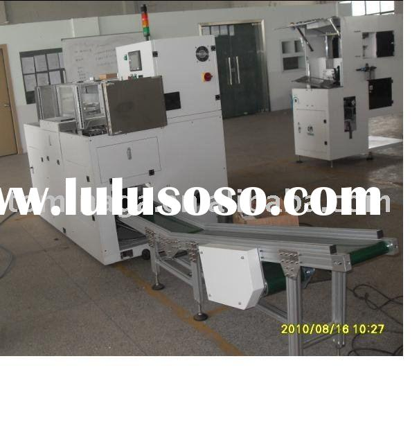 high speed servo motor sanitary napkin packing machine