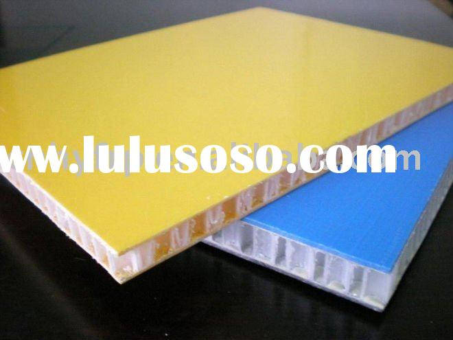 honeycomb frp fiberglass grp sandwich panel