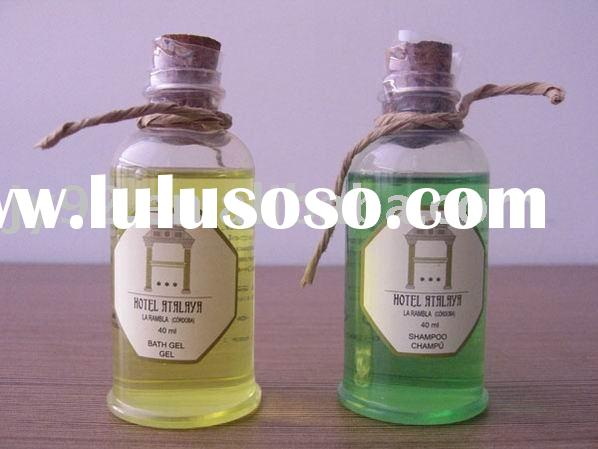 hotel shampoo/bath gel/body lotion