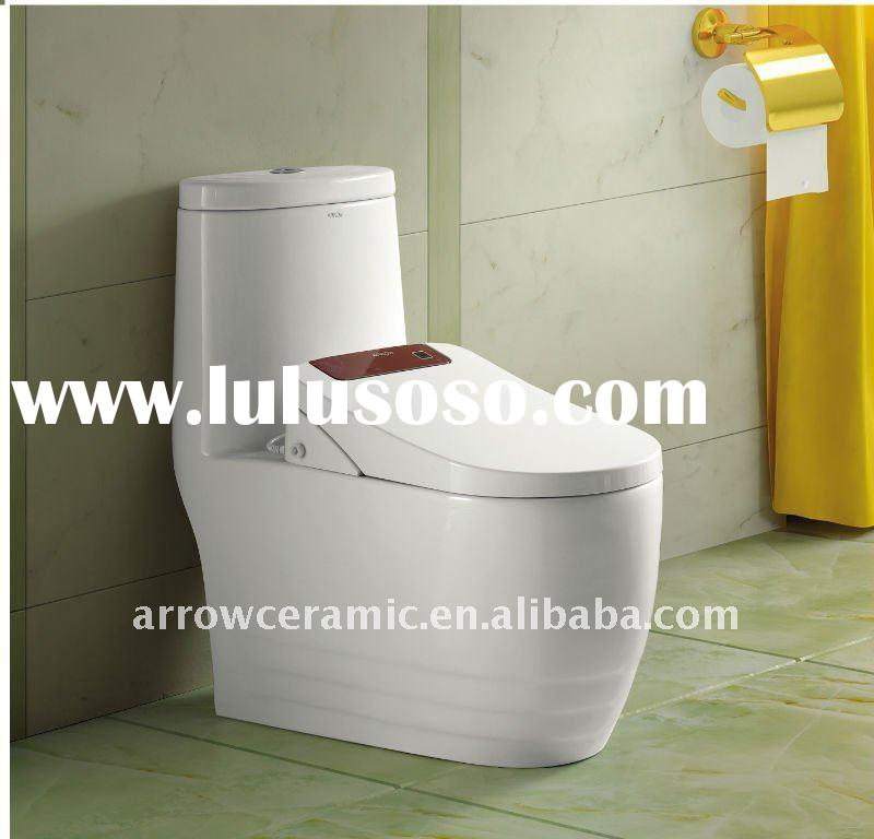 intelligent toilet,automatic cleaning, drying,heat etc.