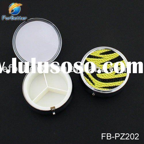 jewelry decorative pill boxes with Acrylic Pattern.FB-PZ202