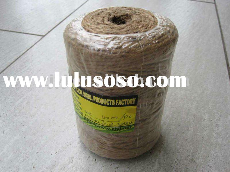 jute yarn for packaging, gardening and crafts