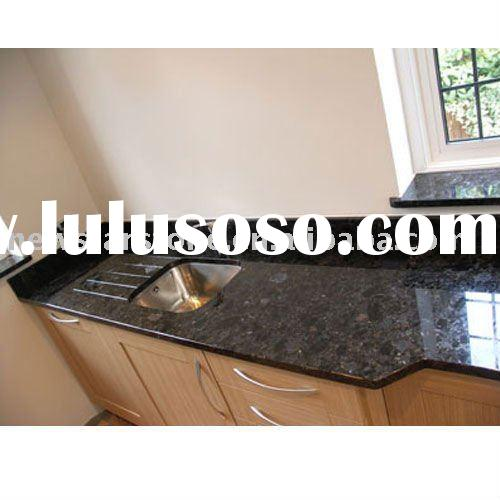 kitchen countertop with cabinet