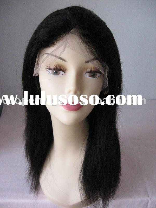 Lace Front Wigs With Bangs For Black Women