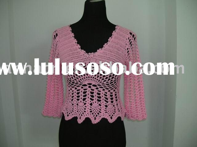 Crochet Patterns For Ladies Tops : Womens Plus Size Crochet Patterns Lovetoknow Party ...