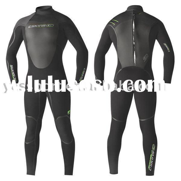 ladies surf suit with YKK zipper and Lava Coated