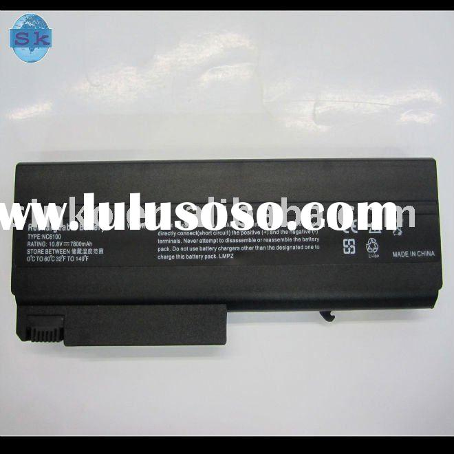 laptop battery charger for hp battery NX6300 9cells