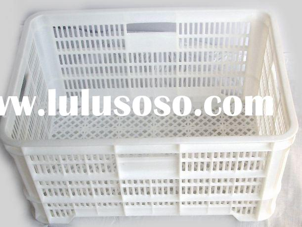 large fruit of white plastic crate F-005