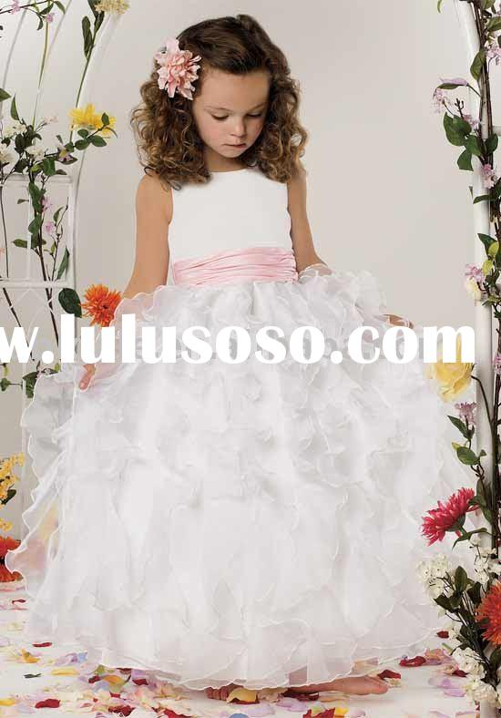 little Queen flower girl dress