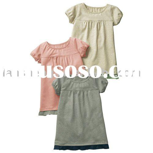 lovely flower baby girl's dresses,baby wear