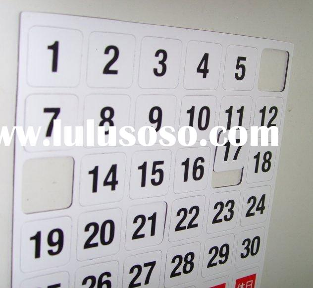 magnetic letters,kiss cut magnet,magnetic sheets with printed surface,die cut magnets with adhesive