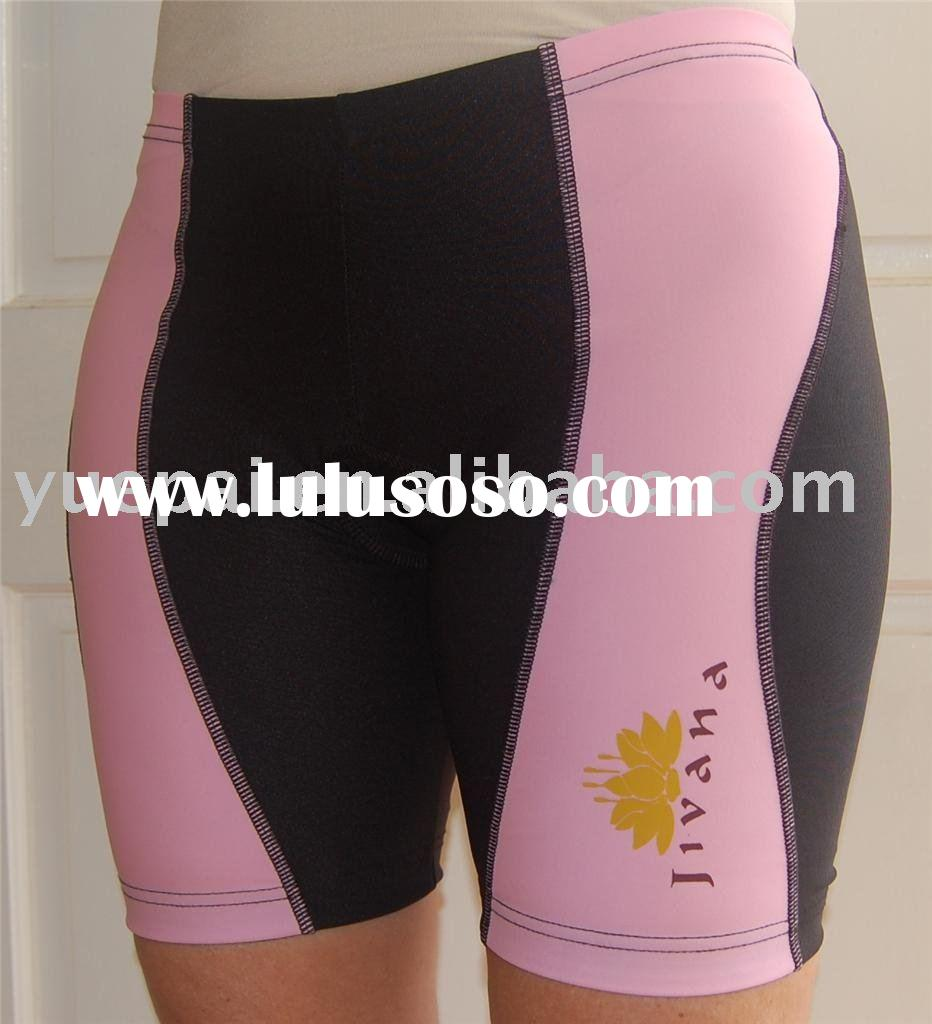 men's cycling shorts with sublimation printing