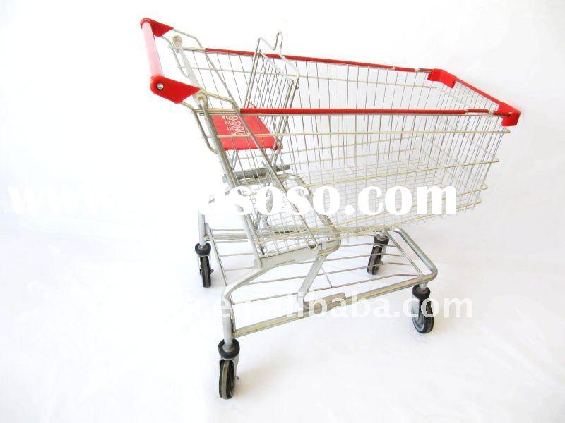 metal grocery Shopping carts