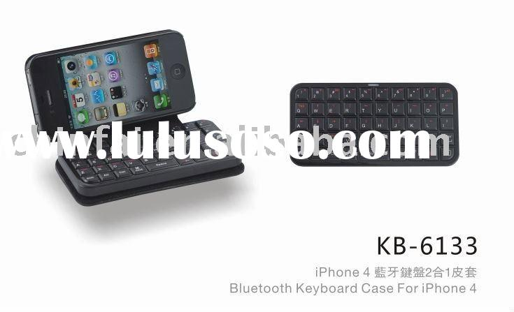mini bluetooth keyboard case for iPhone 4S/4G