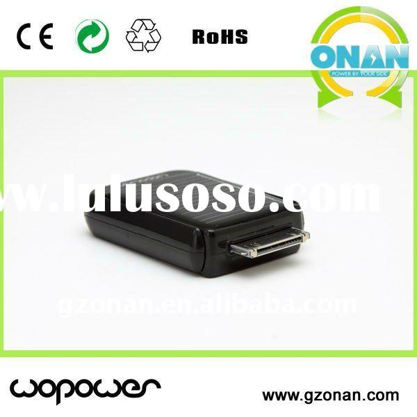 mini cell phone battery charger with 550mAh capacity