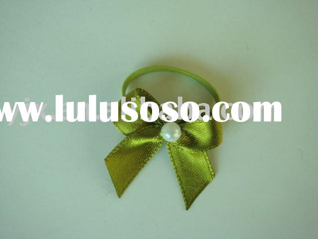 mini satin ribbon bow used in gifts decoration