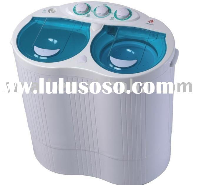mini washer for baby clothes, transparent cover