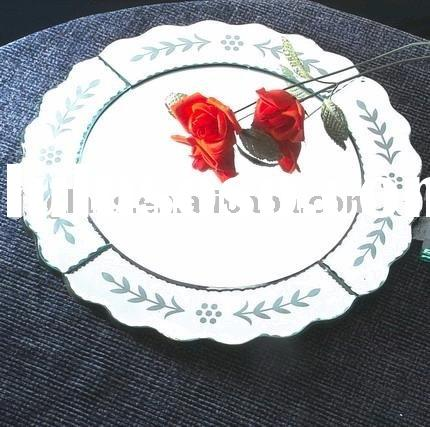 mirror tray,glass tray,bathroom tray-BoA