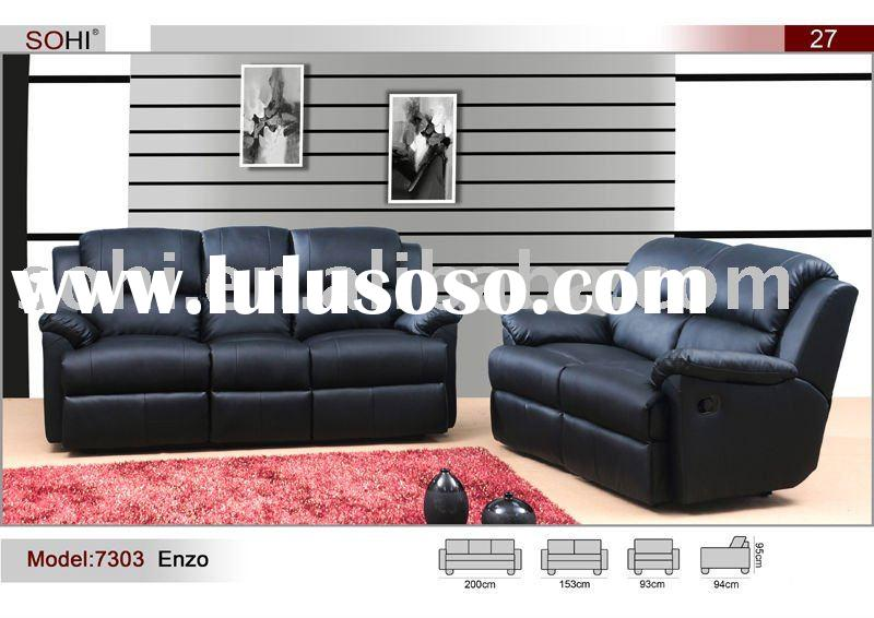 modern european design real leather recliner sofa