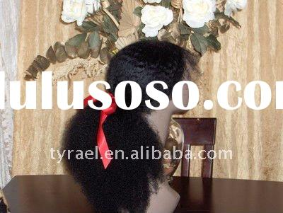 natural hair line silk striahgt glueless full lace wig for black women