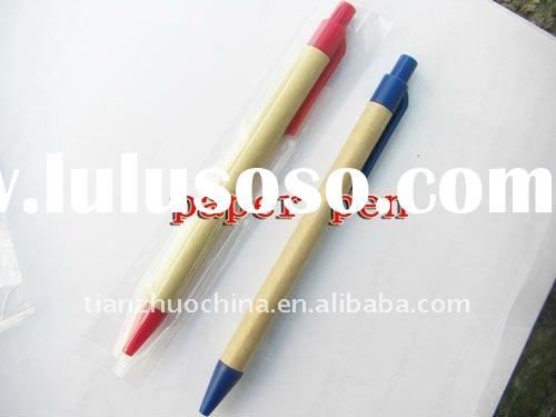 new online paper recycle ball pen