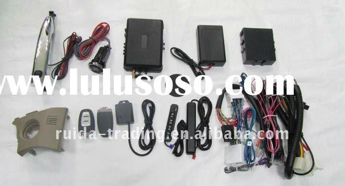 newest design remote engine starter RFID car alarm systems with push button for Corolla of Toyota