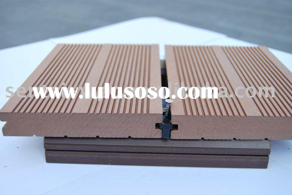 Decking materials non wood decking material for Non wood decking material