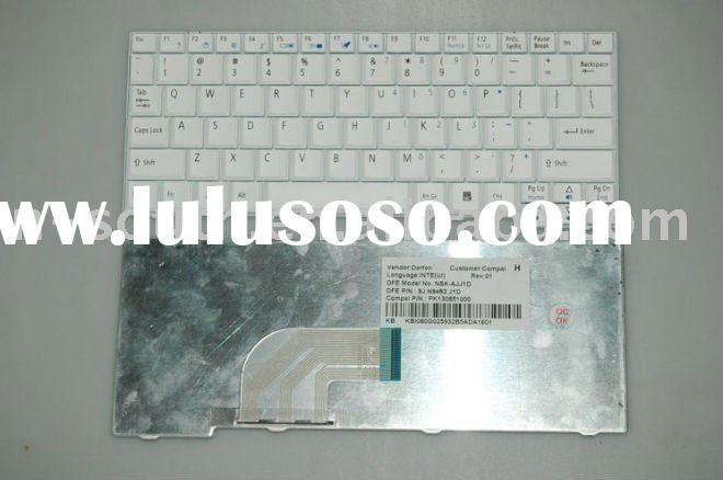 notebook keyboard for ACER Aspire ONE ZG5 ZG8 D250 Series layout