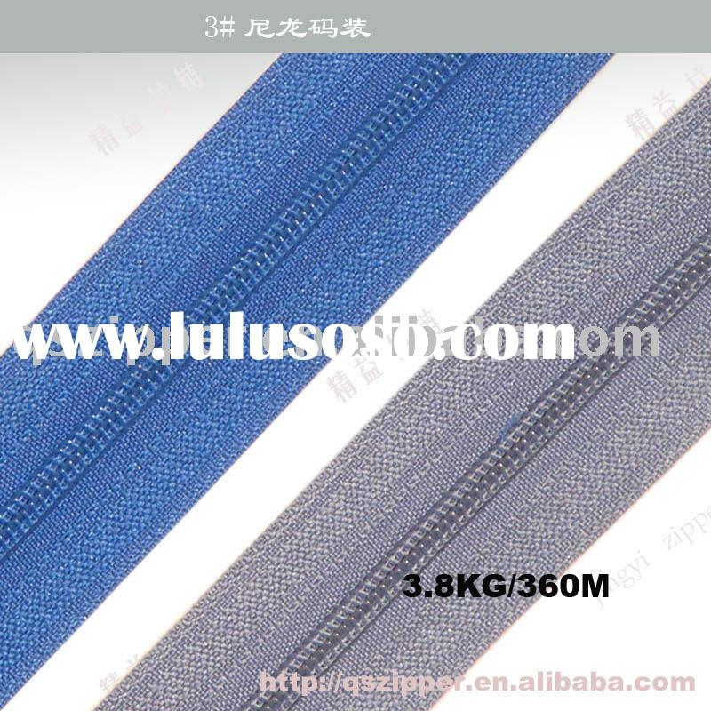 nylon zipper,ykk zipper,bag zipper