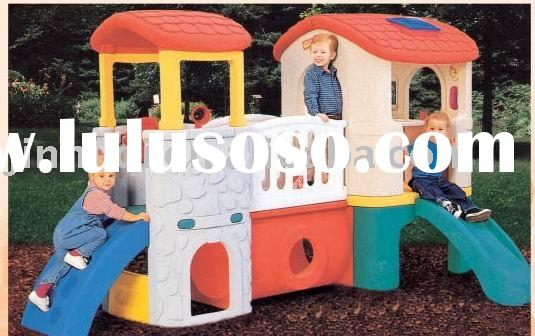 outdoor playground playhouse game house playground plastic house doll house kids house toy house