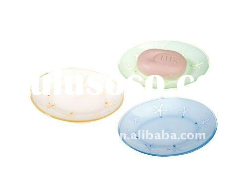 oval shape plastic soap dish soap holder