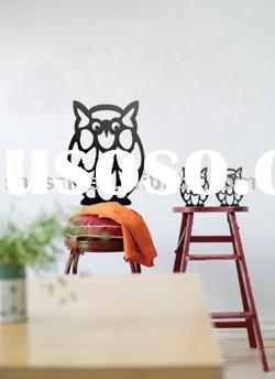 owl wall sticker/room decoration/kids wall decals/wall decoration