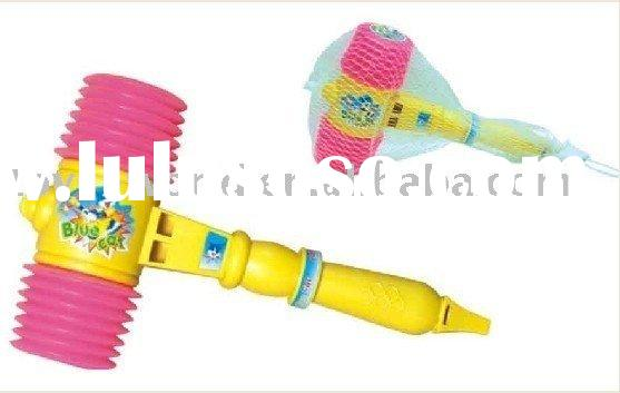 plastic hammer, plastic toy, music sound toy, noise toy, hammer toy, Christmas toy