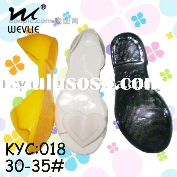 plastic jelly sandals