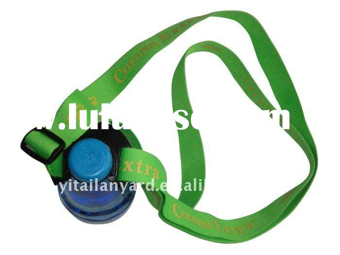polyester water bottle holder lanyard