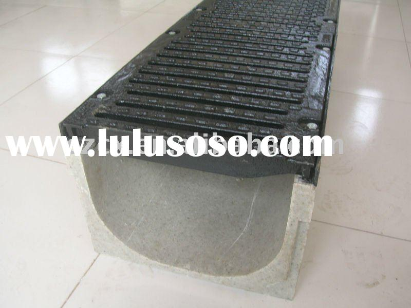 polymer drainage channel drain trench gutter resin concrete drainage trench