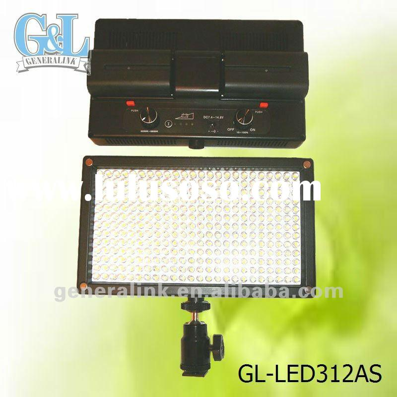 portable led video light GL-LED312AS