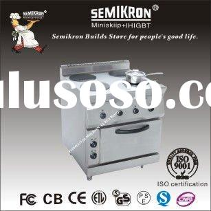 professional Kitchen Equipments Four Plate Heater