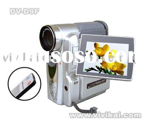 professional video camera with PC camera&still photos&remote control&4x digital zoom