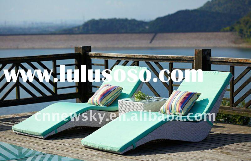 rattan garden furniture outdoor wicker lounge chairs