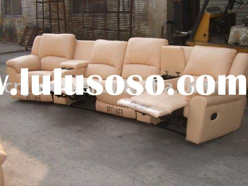 recliner leather sofa , home theatre furniture , cinema furniture, home furniture
