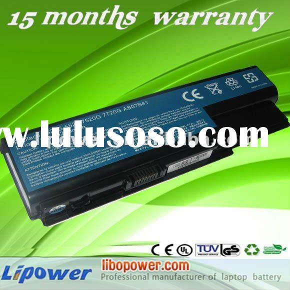 replacement laptop battery for ACER Aspire 5520