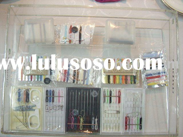 sewing kit, sewing needle/ thread, sewing kit set