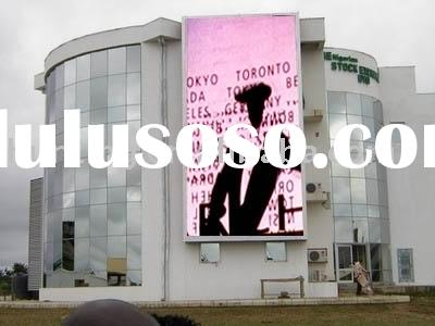 shopping mall outdoor LED display