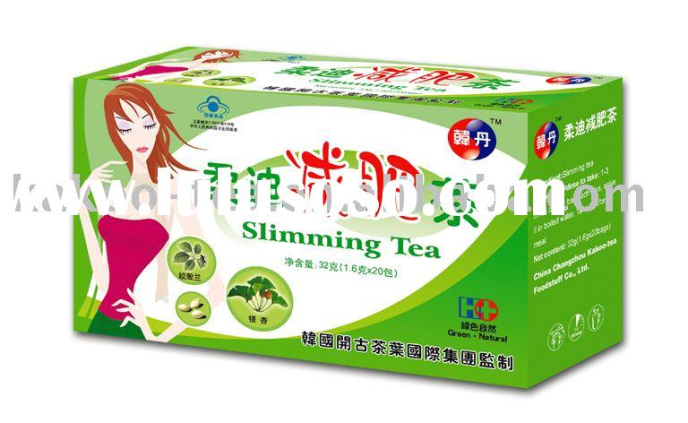 slimming tea & weight reducing tea & weight loosing tea bag & fat removal tea