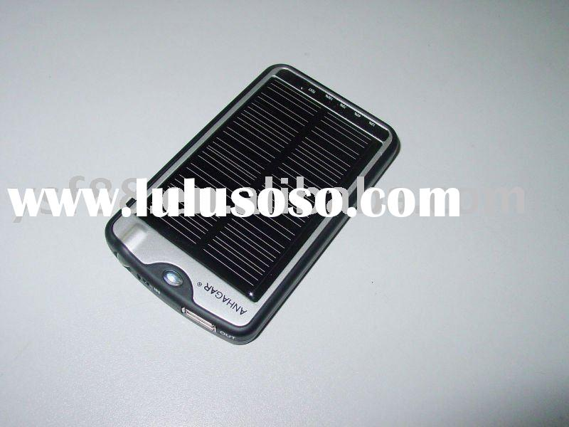 solar intelligent usb mobile phone charger YSF-TC012